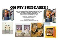 Vintage Suitcases! Join the Reuse Revolution! www.secondchanceinc.org