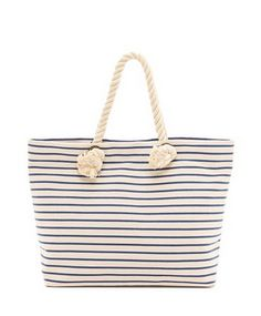 beach tote with rope handles / bop basics