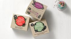 Teahouse Exclusives Organic Line on Packaging of the World - Creative Package Design Gallery