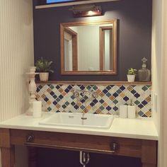 上質な佇まいを作るなら♡水回り以外にも上手にタイルを取り入れたインテリア実例集☆ - Yahoo! BEAUTY House Design, Bathroom Makeover, House Interior, House Rooms, Kitchen Styling, Bathroom Decor, Bathroom Design, Green Bathroom, Cafe Bar Design