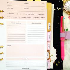 freelance client organizer and also for custom orders for crafters and artists
