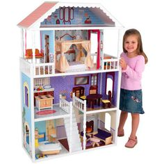 Every little girl needs a doll house. Period.