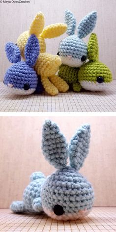easter crochet patterns Babble The Bunny Free Crochet Pattern Crochet Rabbit Free Pattern, Easter Bunny Crochet Pattern, Crochet Amigurumi Free Patterns, Crochet Animal Patterns, Crochet Blanket Patterns, Crochet Dolls, Crochet For Easter, Quilt Patterns, Mode Crochet