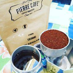 Enjoy the summertime #August #peace #coffee #moka #breakfast #perfectshot #pierrecafè #Etiopiamylove #ricaricarelebatterie #CoffeeTrainingAcademy
