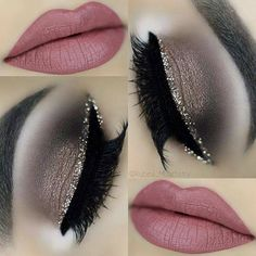 Eyeshadow For Blue Eyes Eye Makeup Tips, Makeup Goals, Glam Makeup, Love Makeup, Makeup Videos, Beauty Makeup, Hair Makeup, Makeup Art, Gold Eyeshadow