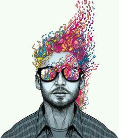 Smart Art, Wallpaper, Illustration, Artwork, Fictional Characters, Design, Pop Art, Vectors, Sketches
