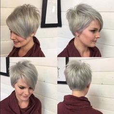 A-line-Pixie-Haircut-Ombre-Balayage-Hairstyles-for-Short-Fine-Hair