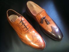 Class and design with cheaney shoes Cheaney Shoes, Oxford Shoes, Dress Shoes, Footwear, Lace Up, Stylish, How To Wear, Design, Fashion