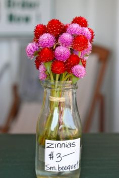 Fall at the Farm Summer Flowers, Pink Flowers, Zinnias, Lilacs, Colorful Garden, Summer Garden, Color Inspiration, Floral Arrangements, Glass Vase