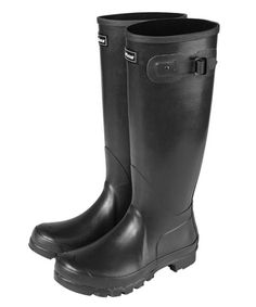 Barbour Town and Country Ladies Gumboots - black. $150.00