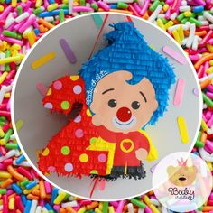Circus Birthday, 2nd Birthday Parties, Baby Birthday, Birthday Party Decorations, Garfield Birthday, Clown Party, Ideas Para Fiestas, Happy B Day, Candy Party