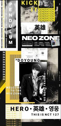 Pop Lyrics, Nct Doyoung, Nct Yuta, Retro Wallpaper, Crazy Kids, Notebook Covers, Pretty Wallpapers, Pop Bands, Kpop Aesthetic