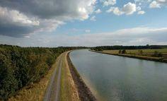 Brocken-Blick vom Elbe-Seitenkanal bei Dannenbüttel