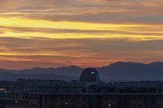 """📷 @jlajaus 2017. Madrid norte, Sanchinarro. """"La Vela"""" BBVA"""