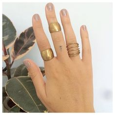 Rings, rings and more rings! Coil and Bead Rings here from @WaysofChange Empowering refugees through ethically made fashion!