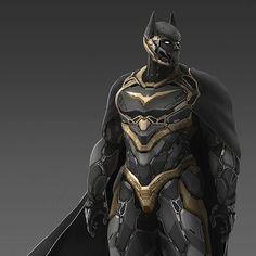 The Dark knight, Francis Lafleche Batman Comic Art, Batman Comics, Batman And Superman, Batman Robin, Dc Comics, Rougue One, Batman Concept, Batman Redesign, Batman Armor