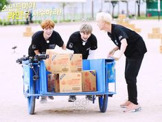 Running man preview (behind the scenes): J-Hope, Suga and Jin ^^