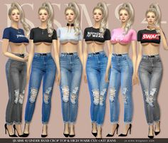 7b14921c8fc 2997 Best The Sims 4 Clothing n Acc images in 2019 | Sims 4 clothing ...