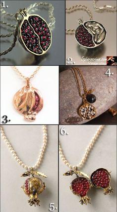 Lust List: Pomegranate Jewelry   Splurgerina