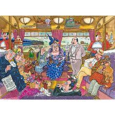 Wasgij Mystery 9 - Great Train Robbery jigsaw puzzle