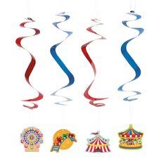 """Over The Top"" Dangling Swirls - OrientalTrading.com"