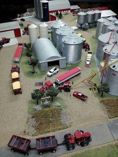 Farm Trucks, Toy Trucks, Monster Trucks, Farm Village, Farm Layout, Toy Barn, Farm Crafts, Toy Display, Old Farm Equipment