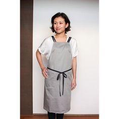 Double strap apron