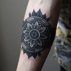 mens mandala tattoo
