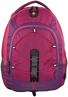 00dc710d7111 SwissGear Mars Backpack with Laptop Compartment Pink    You can get more  details by clicking on the image. (This is an affiliate link)