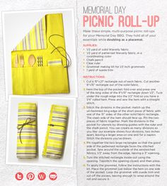 picnic roll-up