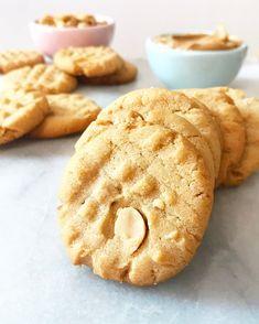Crispy, Crunchy Peanut Butter Cookies   e2 bakes brooklyn Peanut Butter Sandwich Cookies, Fun Cookies, Peanut Butter Cookies, Roasted Peanuts, Bon Appetit, Love Food, Snacks, Baking, Brooklyn