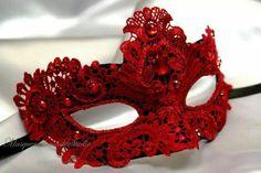 I think Red would look hot - Beautiful Lace Masquerade Mask- Venetian Mask Brocade Lace Masquerade Ball Mask Lace Masquerade Masks, Venetian Masquerade, Venetian Masks, Masquerade Party, Masquerade Dresses, Vampire Masquerade, Maskerade Outfit, Lace Mask, Beautiful Mask