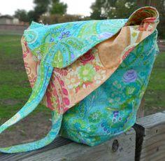 The Free Shirt Sleeve Sack Sewing Tutorial by Cathe Holden of JustSomethingIMade