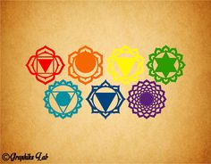 Chakra 7 Decal Set Path to Enlightenment Chakra 7 by GraphiksLab