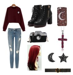 """""""Do you believe?"""" by awesomesauceisbored ❤ liked on Polyvore featuring Frame, STELLA McCARTNEY and Jewelonfire"""