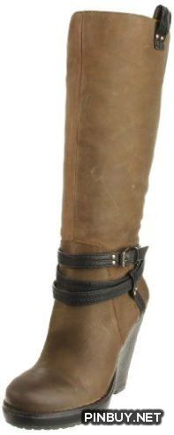 Jessica Simpson Women's Kit Knee-High Boot,Army brown Vintage Nubuck,9.5 M US Jessica Simpson - PinBuy