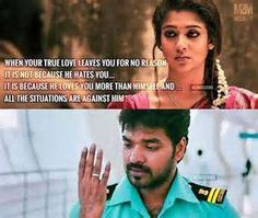 286 Best Raja Rani Quotes Images On Pinterest Film Quotes Broken