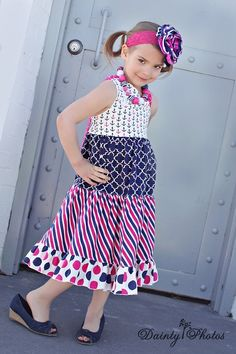 Create Kids Couture - Ginger's One Shoulder Dress and Top PDF Pattern, $10.00 (http://www.createkidscouture.com/gingers_girls.html)