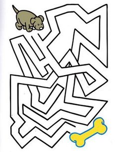 Mazes For Kids, Worksheets For Kids, Activities For Kids, Printable Mazes, Free Printables, German Language Learning, Brain Gym, Kids Education, Free Design