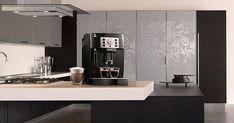 Découvrez la machine expresso Delonghi Magnifica S Machine Expresso, Cappuccino Machine, Coffee Machine, Best Espresso, Espresso Maker, Best Coffee, Countertops, Coffee Cups, Guide
