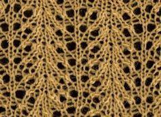 Wheat 2 - Knittingfool Stitch Detail