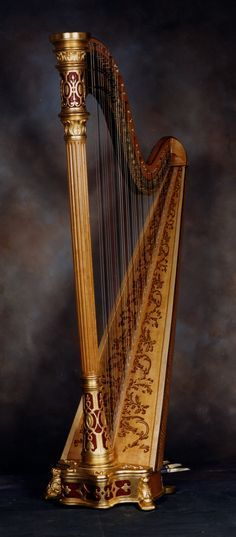 Lyon & Healy Style 14, 1940's - H. Bryan & Co. » Gallery of Restored Harps