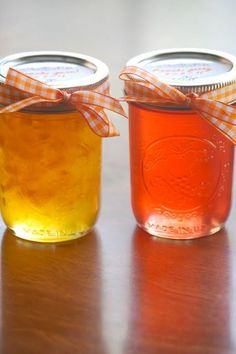 Canning Peach Jam and make peach jelly from homemade juice. Yum