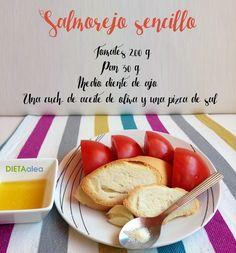 La dieta ALEA -  blog de nutrición y dietética, trucos para adelgazar, recetas para adelgazar: Salmorejo sencillo