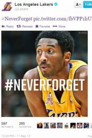 Sigh --> Tweet from the Los Angeles Lakers