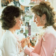 """Steel Magnolias """"My colors are blush and bashful"""" LOVE this movie"""