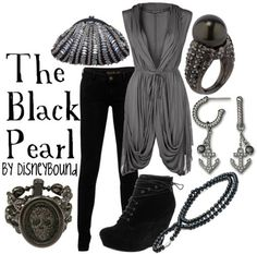 The Black Pearl - taking an outfit idea from a pirate ship, who'd have thought it'd turn out this well?!
