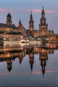 The towers of Dresden | Germany