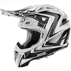2015 Airoh Aviator 2.1 Helmet Arrow White