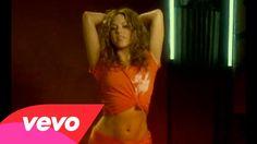 Shakira - Hips Don't Lie ft. Wyclef Jean  If I am reincarnated,  I want to dance like Shakira!!